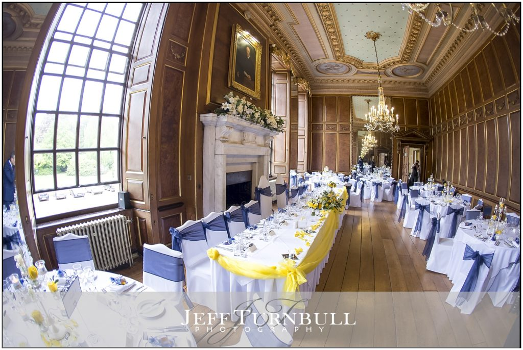 Gosfield Hall Wedding Breakfast