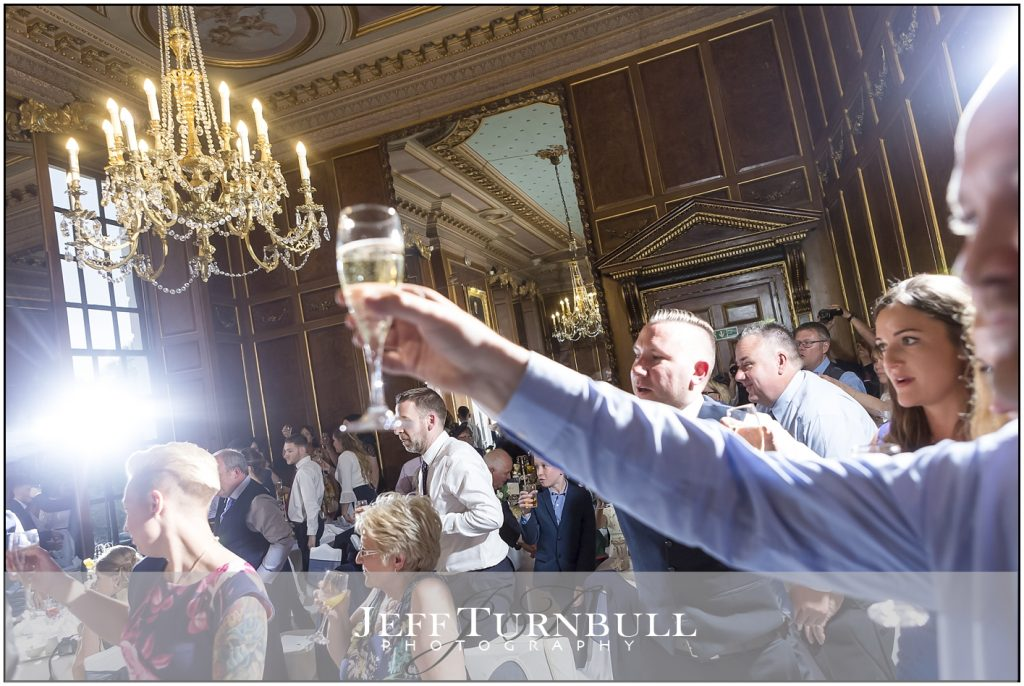 Gosfield Hall The Toast