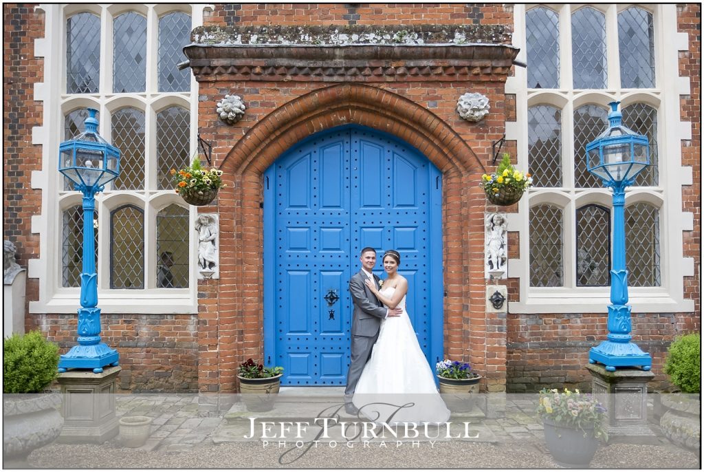 Gosfield Hall Blue Door