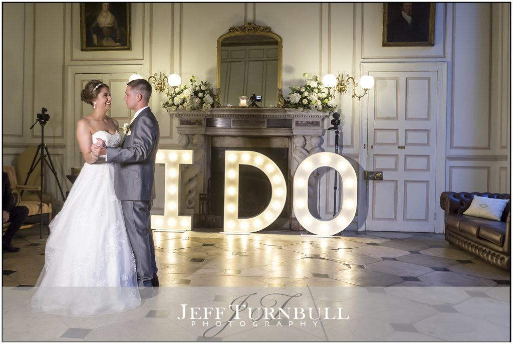 Gosfield Hall First Dance Wedding Photography
