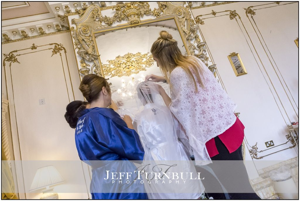 Bridal Prep Gosfield Hall Wedding Photography