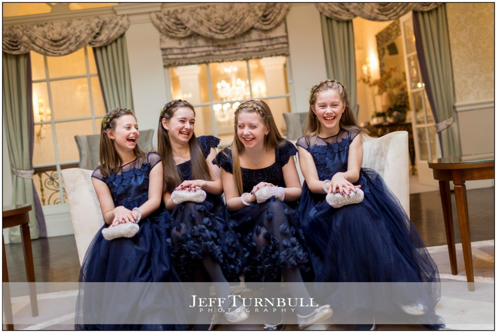 Young Bridesmaids Laughing