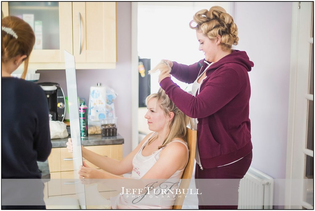 Bridal Preparations Friern Manor Autumn Wedding