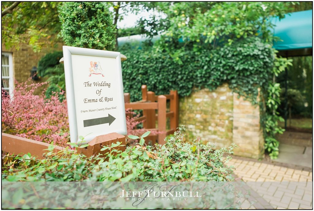 Friern Manor Autumn Wedding
