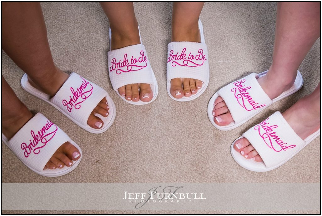 Bride and Bridesmaids Slippers