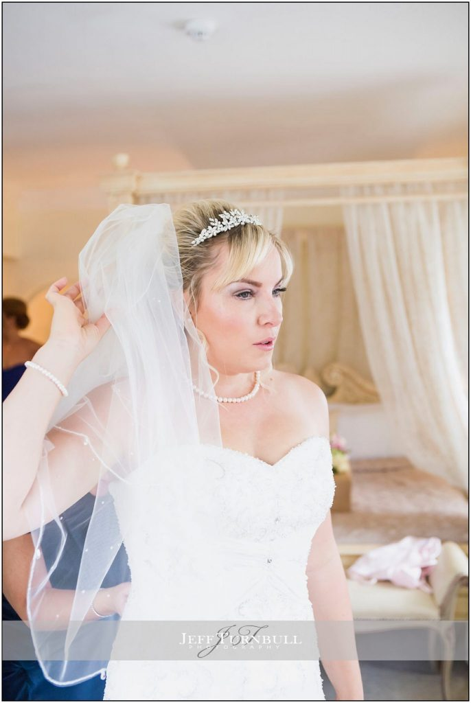 Bride in Wedding Dress Friern Manor