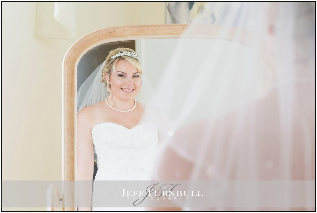Bride Mirror Reflection Friern Manor