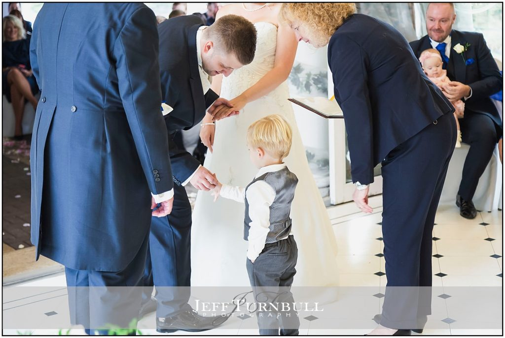 Pageboy Passing wedding Rings