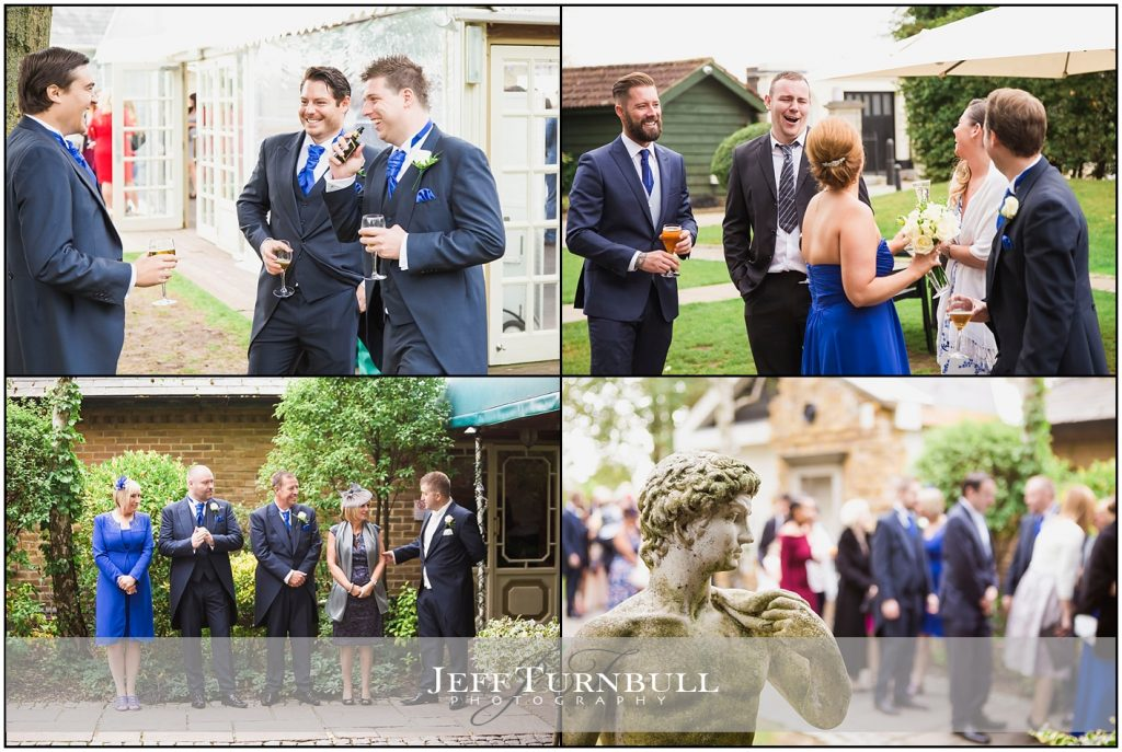 Wedding Guests Having Fun at Friern Manor
