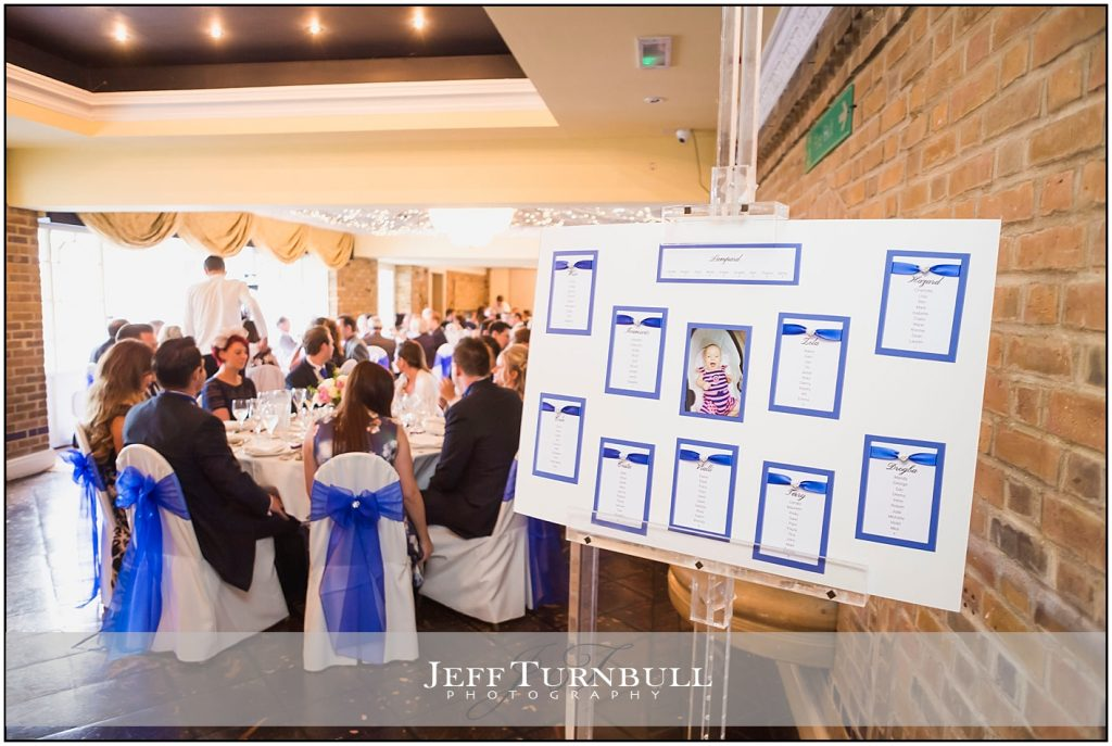 Table Plan Friern Manor