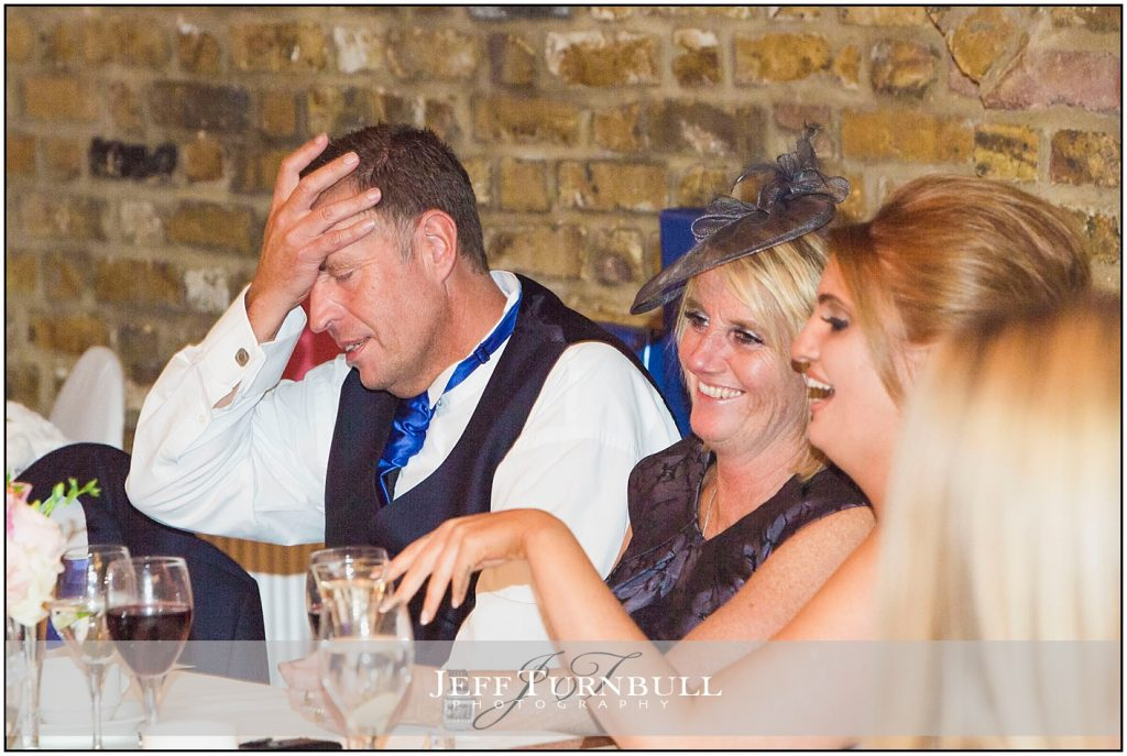 Wedding Guests Reactions at Speeches