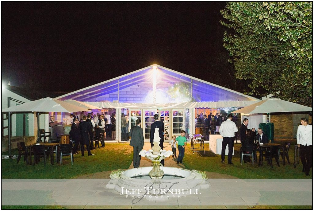 Night Time Friern Manor Autumn Wedding