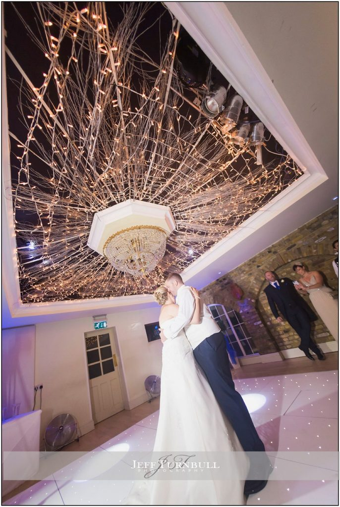 First Dance Friern Manor Autumn Wedding
