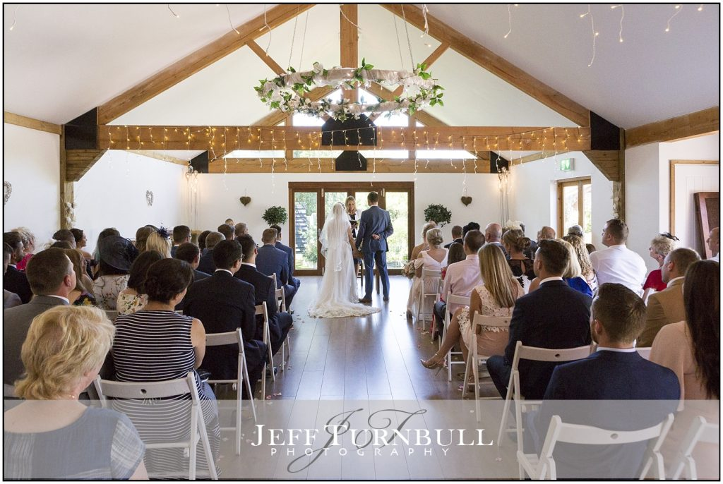 Wedding Ceremony Oak Barn Maidens