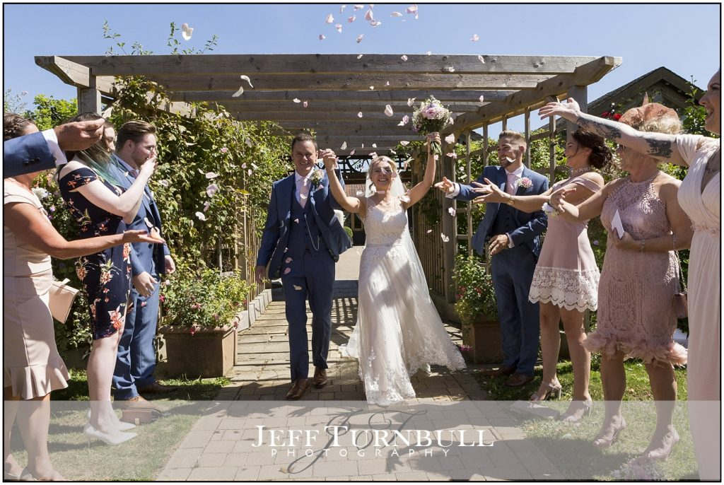 Bride Groom Confetti Maidens Barn