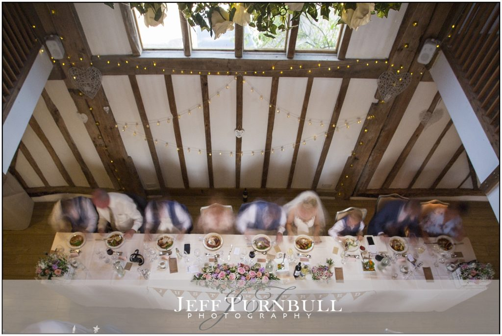 Top Table Maidens Barn Wedding