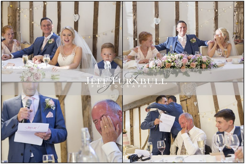 Funny Speeches Maidens Barn wedding