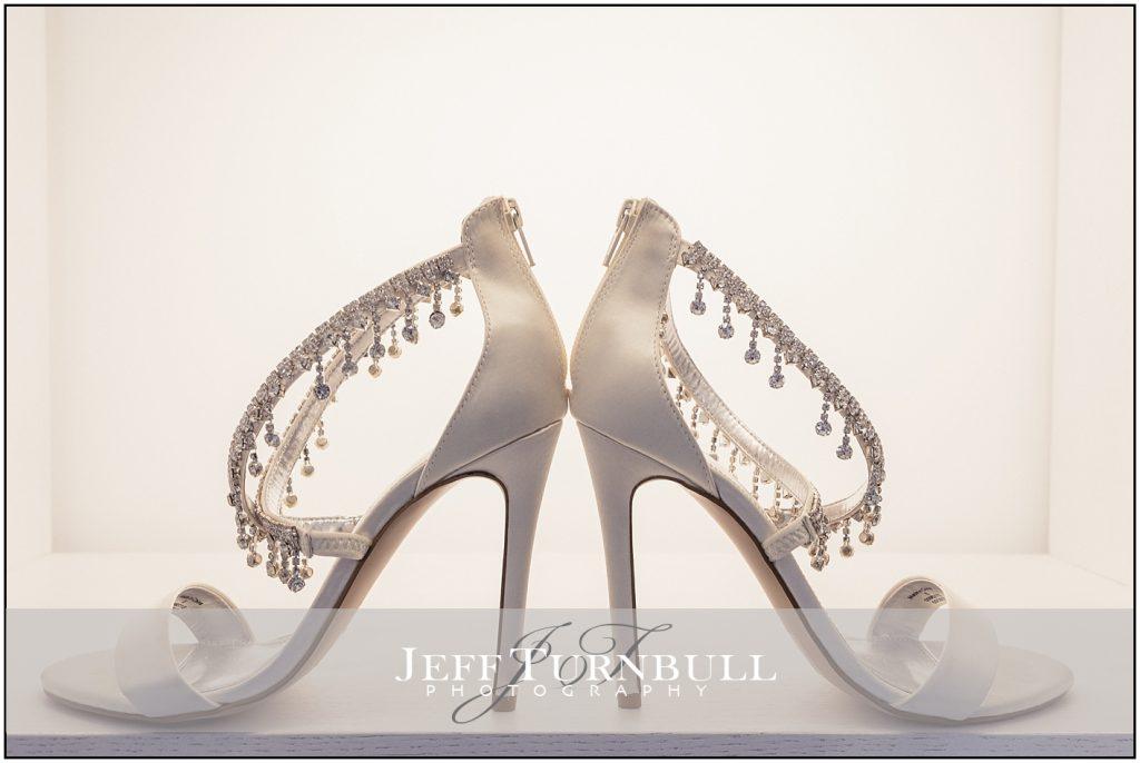 Brides Shoes Santorini wedding