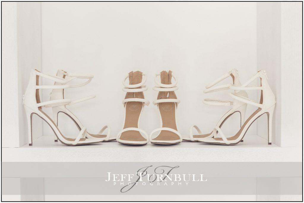 Bridesmaids shoes Santorini wedding
