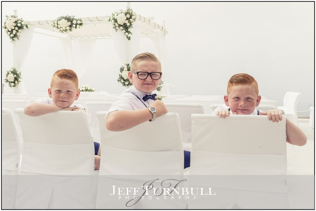 Pageboys Santorini Gem Wedding Photography