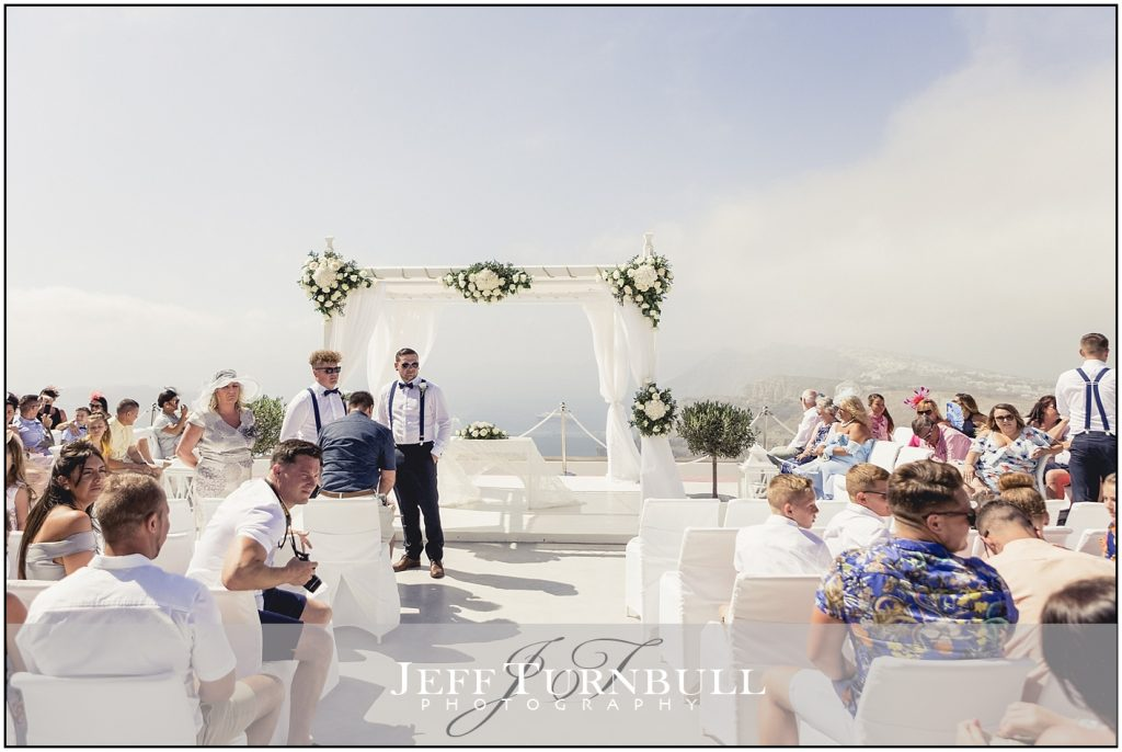 Ushers at Santorini Gem Wedding Photography