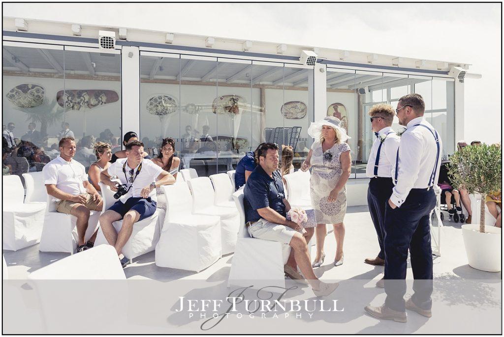 Guests Santorini Gem Wedding Photography
