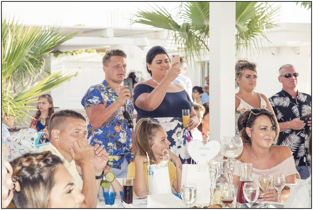 Guests at Santorini Gem Wedding