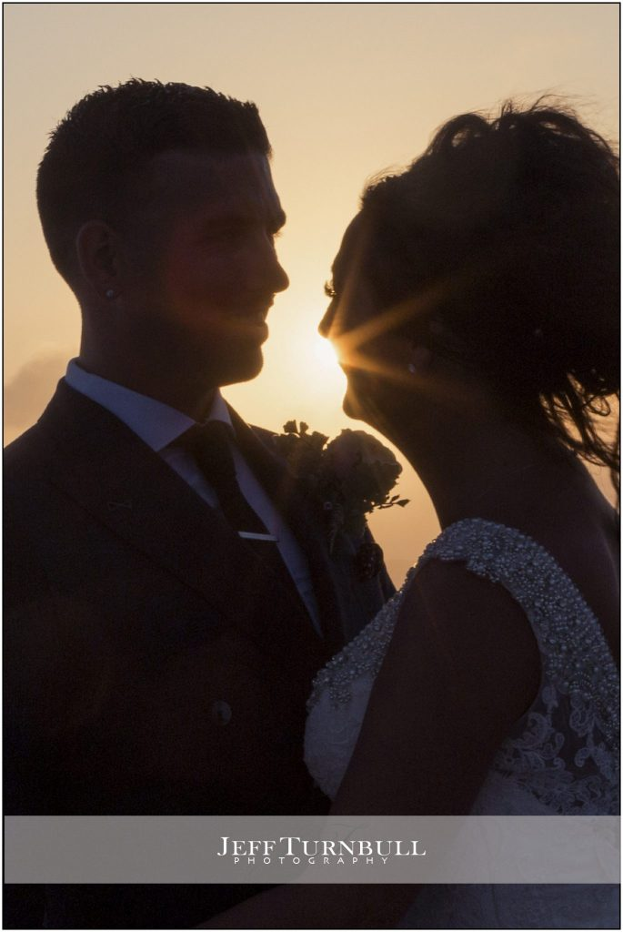 Sunset Santorini Gem Wedding