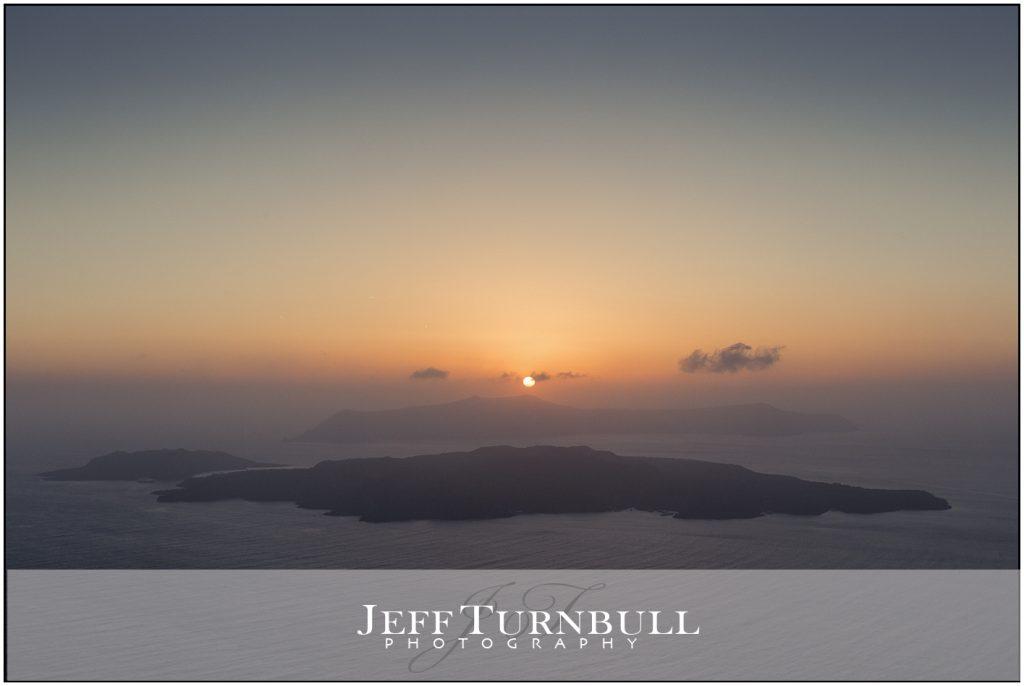Sunset Santorini Gem Wedding Venue