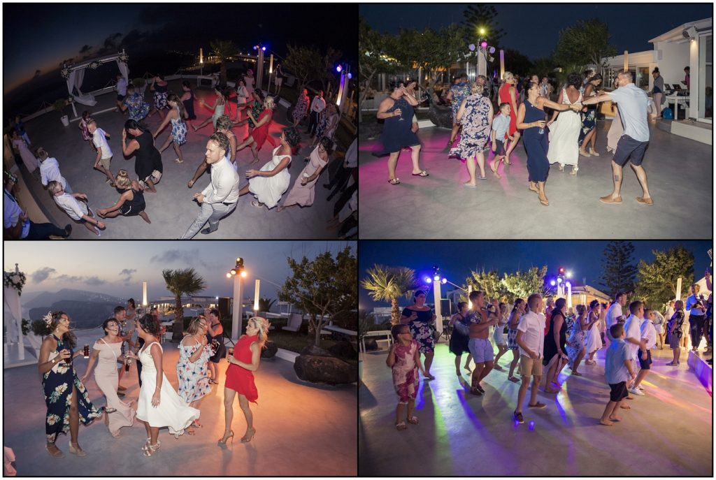 Dancing Santorini Gem Wedding Venue