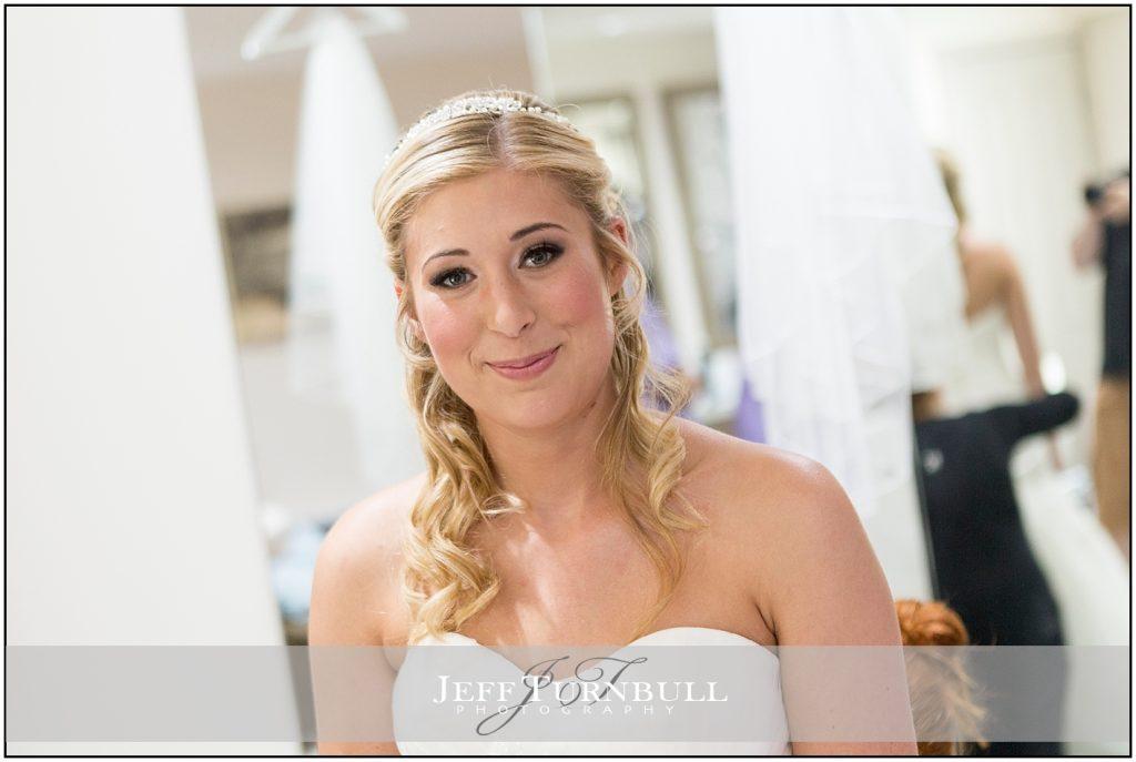 Happy Bride Compasses at Pattiswick