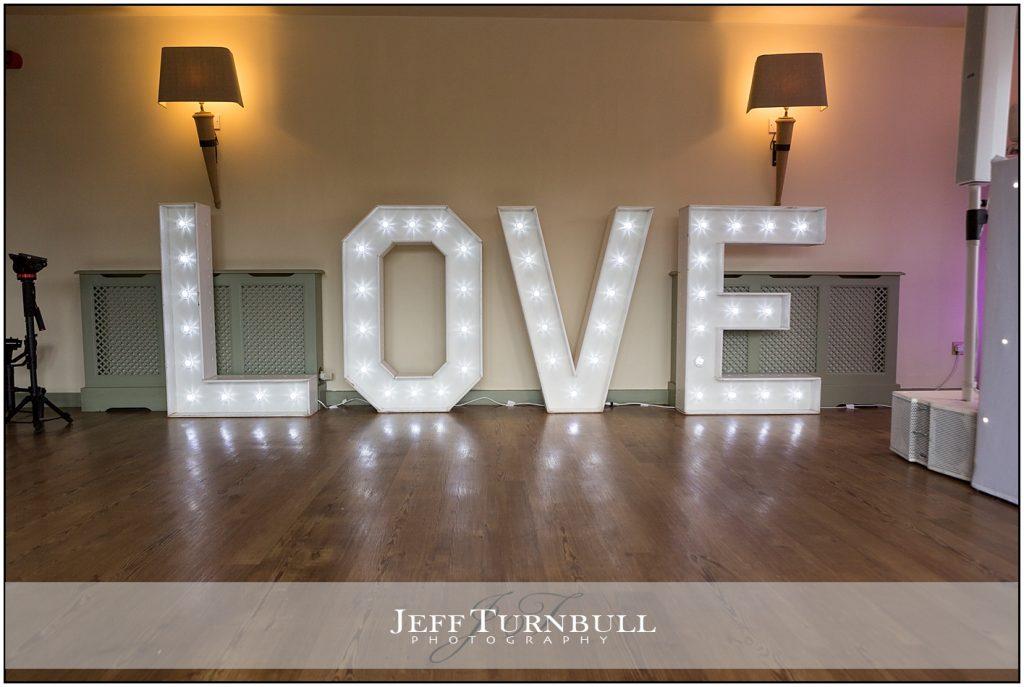 Love Sign Compasses at Pattiswick