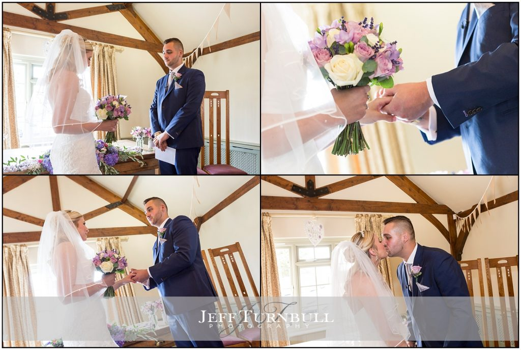 Wedding Ceremony Compasses at Pattiswick