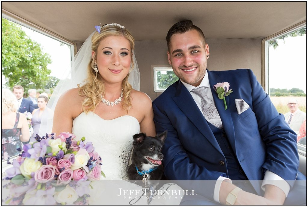 Bride Groom Horse Drawn Carriage Compasses at Pattiswick