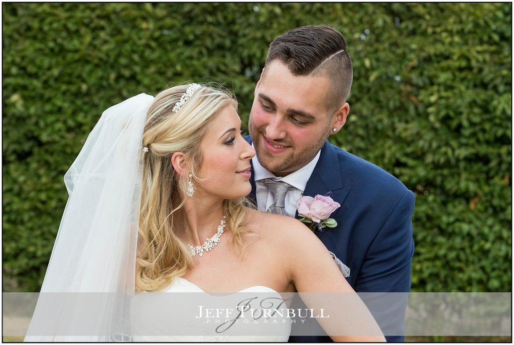 Bride Groom in Love Compasses at Pattiswick