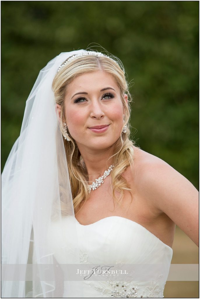 Bride Portrait Compasses at Pattiswick
