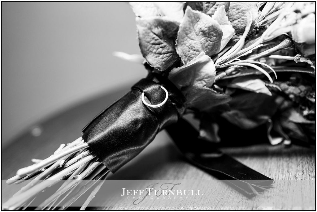 Ring on Bouquet