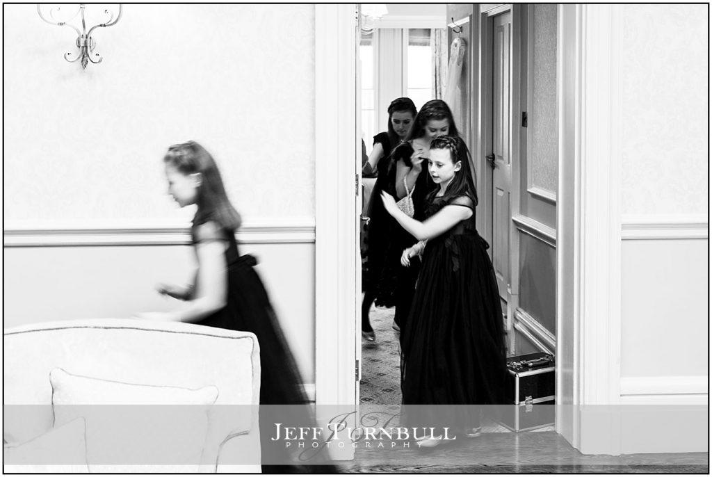 Young Bridesmaids at Down Hall