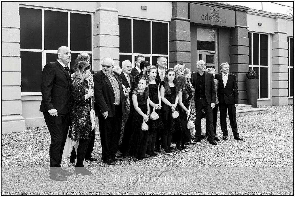Group Photos at Down Hall Wedding