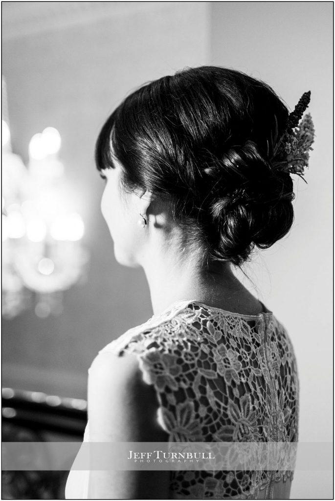 Wedding Dress Lace Close Up Details