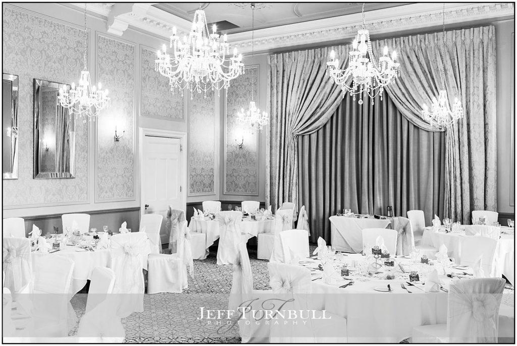 Wedding Breakfast Room at Down Hall