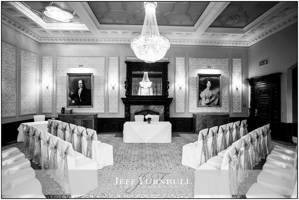 Wedding Ceremony Room at Down Hall