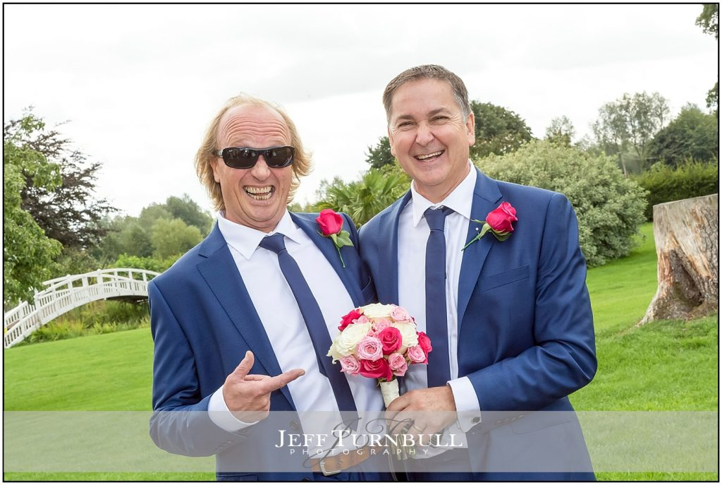 Bride and Groom's Fathers at The Fennes