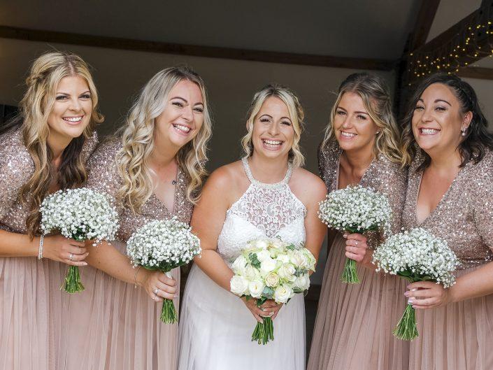 Bridesmaids at Maidens Barn