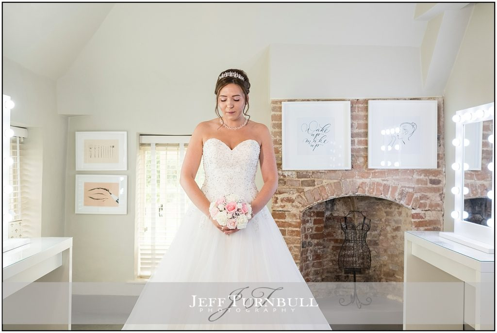 Bride Portrait at Quendon Hall