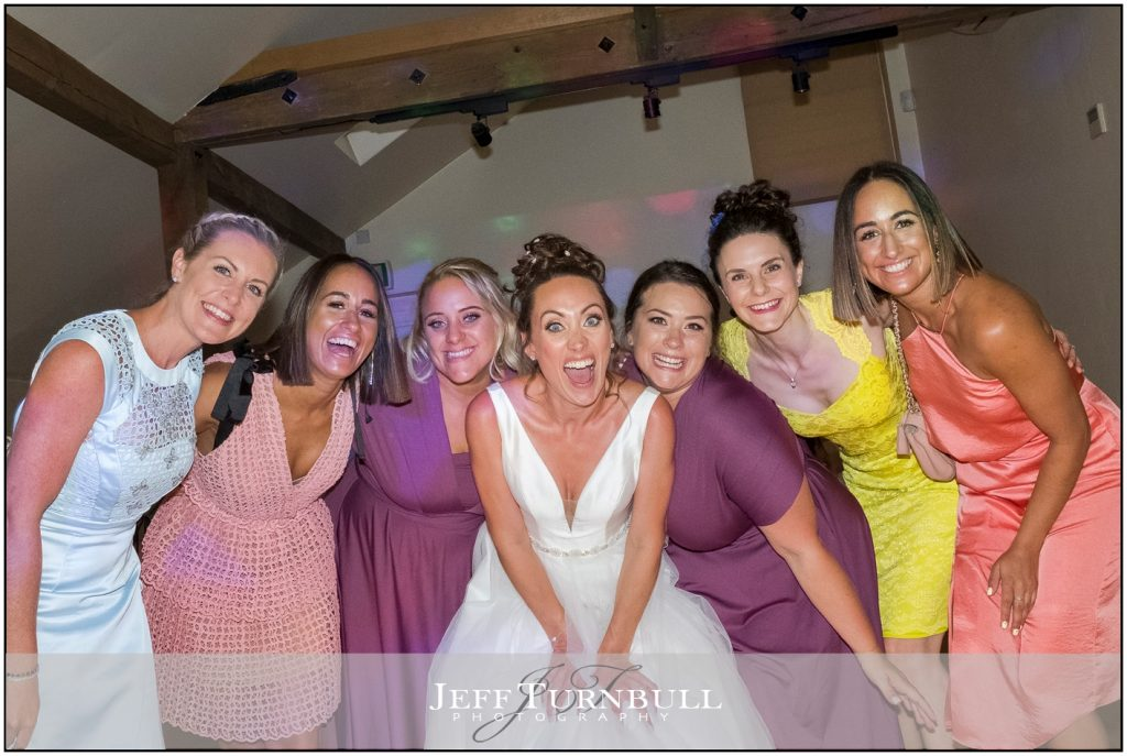 Bride and Girlfriends Gaynes Park