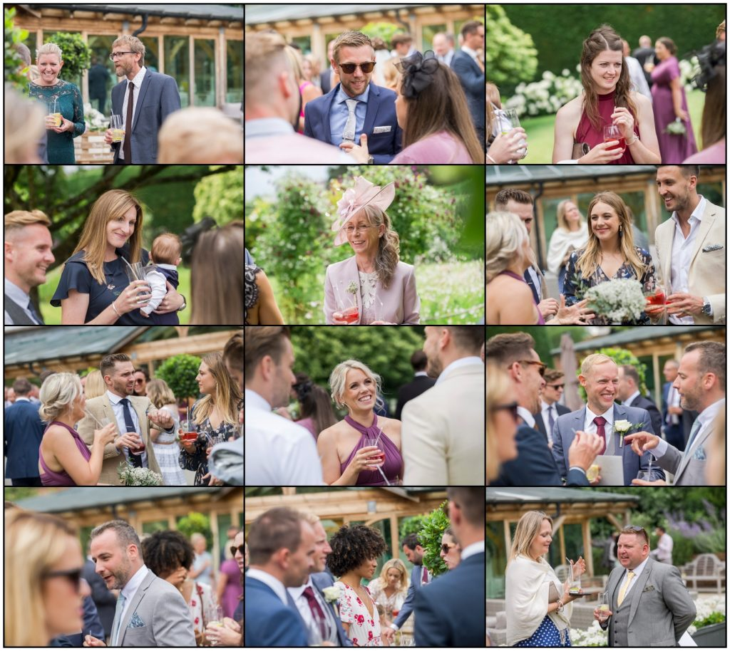 Gaynes Park Wedding Guests