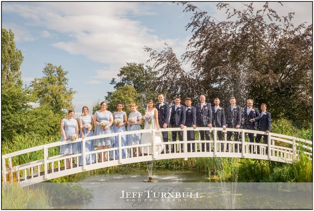 Best Fennes Wedding Photography on the Bridge