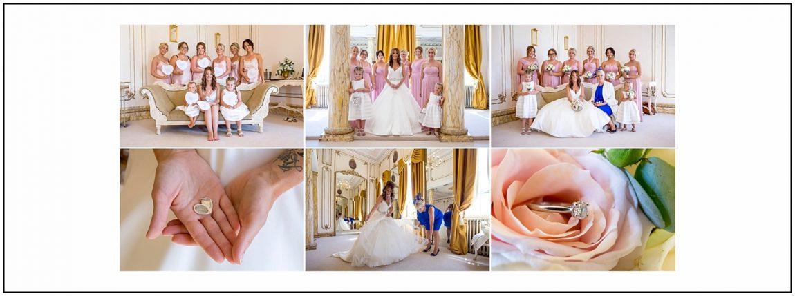 Bridal Prep at Gosfield Hall