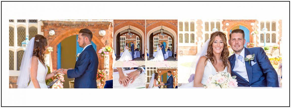 Wedding Photographs at Gosfield Hall